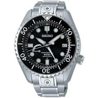 Seiko Prospex Marine Master Spring Drive GMT SBDB001 MM600 Dive Watch
