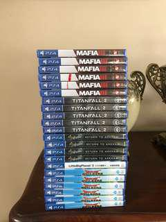 PROMOTION PS4 GAMES