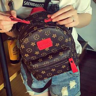 🍀Ready Stock 现货+Free Shipping 免运费  Inspired Tag Backpack Fashion Bag Pack Shoulder Lady Women PU