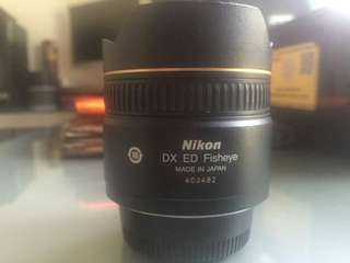 LENSA CAMERA Nikon 10.5mm f/2.8 DX Fisheye