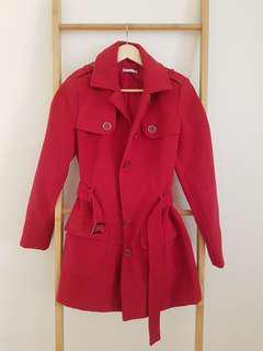 Target classic red winter coat