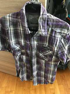 Esprit shirt sleeves checker shirt