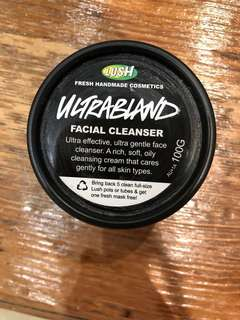 Ultrabland facial cleanser