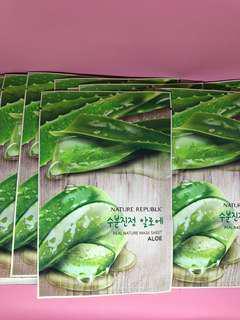 Nature Republic Sheet Mask - Aloe Vera