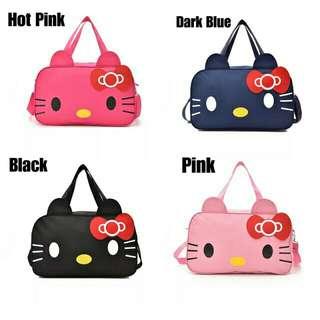 🍀Ready Stock 现货+Free Shipping 免运费READY STOCK ISALES KT Travel Luggage Handbag Cute Mummy Bag Beg Bags Sling