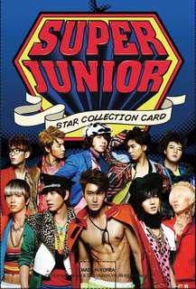 [Complete Set] SJ Star Collection Card