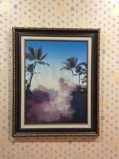 Bingkai/Frame Jumbo uk 83cm x 102cm (Ada 3 Buah)