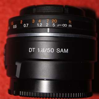 Sony 50mm A-mount