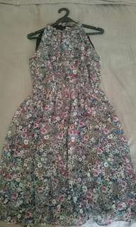 H&M floral printed dress