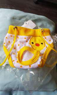 Brand new puppy small dog training pants duck prints