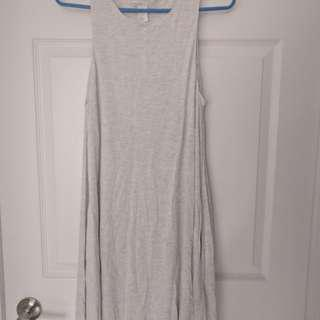 Grey tank skater dress (with pockets)