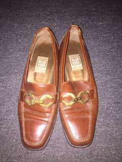 Italian Loafers/Leather Shoes (slip on)