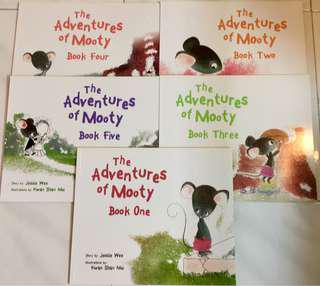 The adventures of Mooty book set