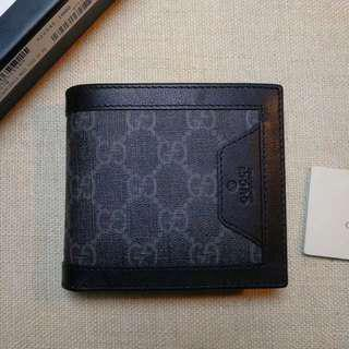 Gucci Supreme GG Black Wallet
