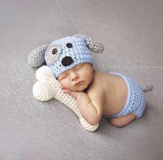 <RENTAL> Baby Newborn Photography Costumes Set