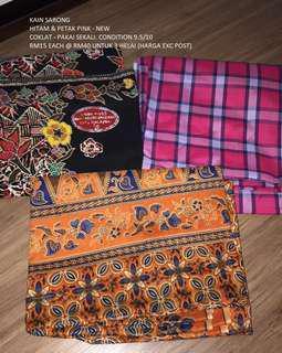 Clearance A: boys clothes + kain sarong