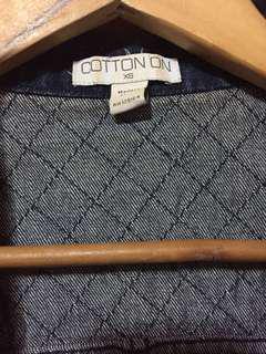 Cotton On jacket not Zara Mango Topshop H&M