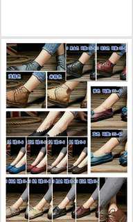 牛皮卸力健康鞋