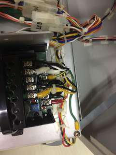 Electrical, hacking, removal, repair