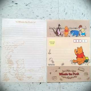 Winnie the Pool 小熊維尼Letter 信紙