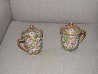Antique cups x2