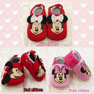 Minnie Mouse Slip On Shoes