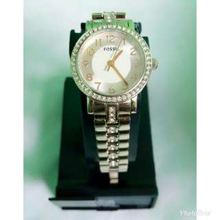Fossil Gold-Tone Watch