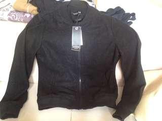 Bronx Bomber Black Jacket