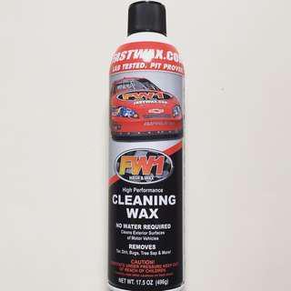 FW1 Waterless Car Wax