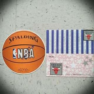 NBA Basketball Letter NBA Chicago Bulls 籃球信紙