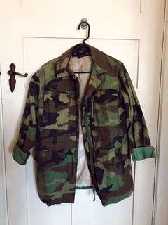Army jacket from topshop