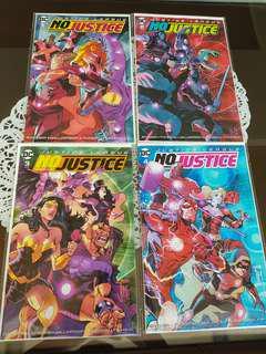 Justice League No Justice Set