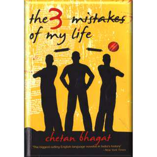 The 3 Mistakes of My Life By Chetan Bhagat (144 Page Mega eBook)