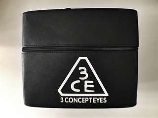3CE makeup case
