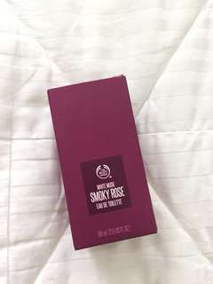 New! The Body Shop White Musk Smoky Rose Eau De Toilette