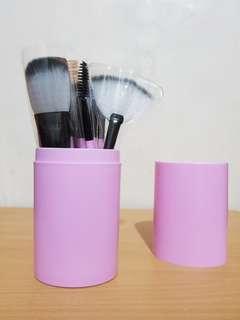 (SALE) Soft Pink Brush 12 Set + Tube