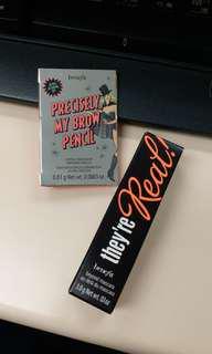 [包郵] BENEFIT they're Real Mascara + Brow Pencil travel size