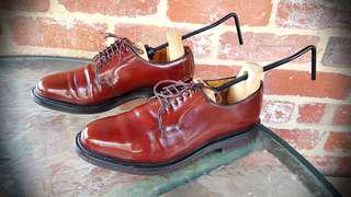 Lloyd ×German Made Brown Leather Shoes - Size 8