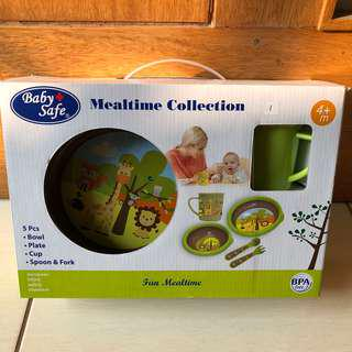 NEW - Baby+ Safe Set Alat makan bayi