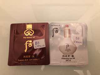 The History Of Whoo 后:拱辰享 美/雪 BB CREAM