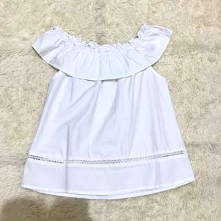 Chocochips white top
