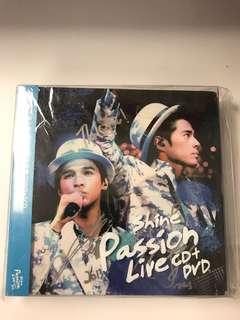 SHINE 親筆簽名 演唱會 DVD