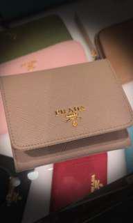 Prada Wallet - Saffiano Trifold