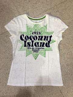 COCONUT ISLAND tshirt kaos