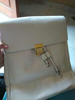 ZARA backpack white new