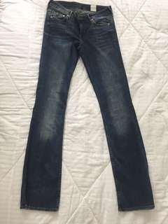 H&M Dark Denim Bootcut Denim Pants