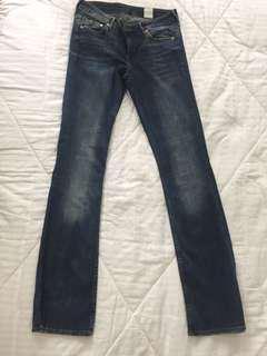 H&M Dark Denim Bootcut Denim Pants