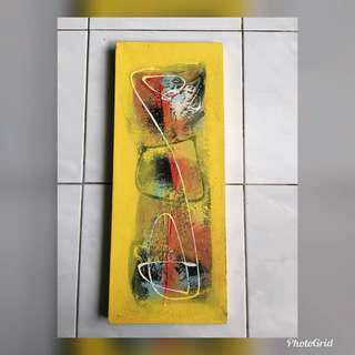 Yellow Oil Painting