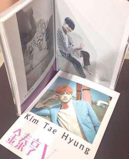 wts bts v taehyung photobook