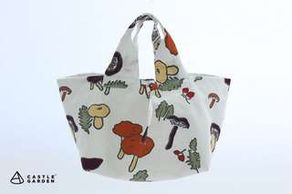 CASTLE GARDEN日本布棉質手拎袋